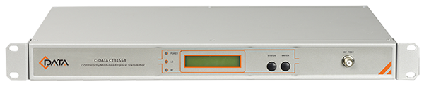 CT3155B SERIES 1550NM DIRECTLY MODULATED OPTICAL TRANSMITTER