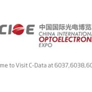 c-data at cioe 2016