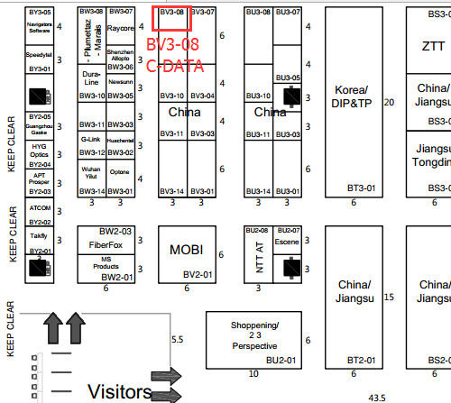 layout of communicasia 2015
