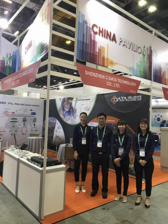 cdata at CommunicAsia2017