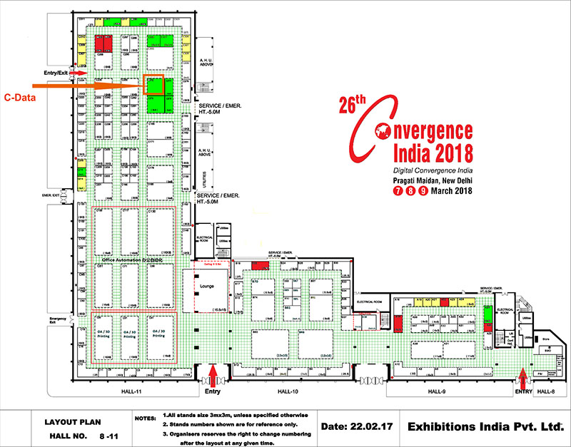 the 26th convergence india 2018