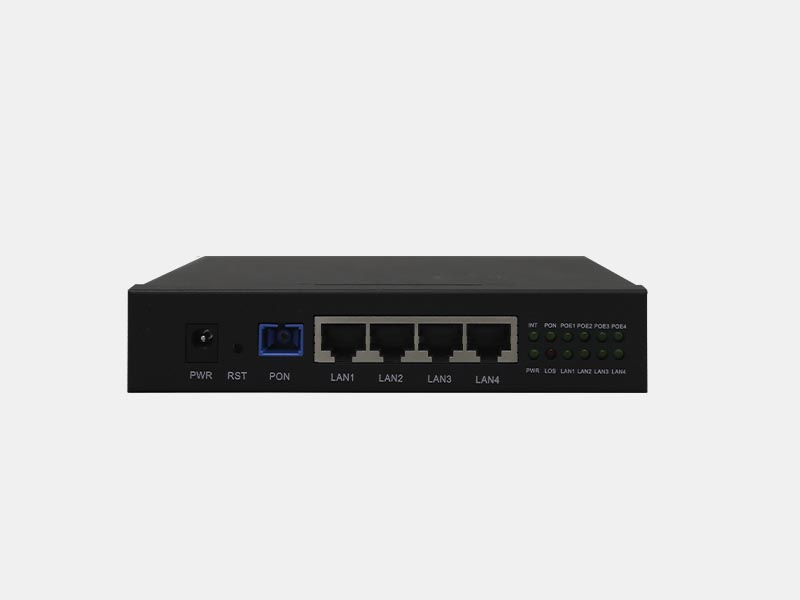 4GE+PSE Building ONU optional epon gpon xpon
